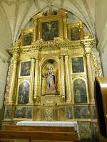 Retablo de la Virgen del Rosario, Colegiata de Santa Maria la Mayor