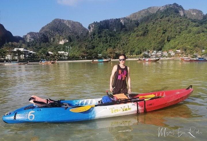 Kayak-islas-Phi-Phi