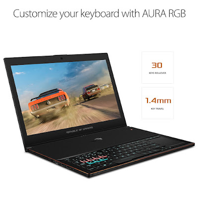 ASUS ROG Zephyrus GX501 gaing laptop 2018