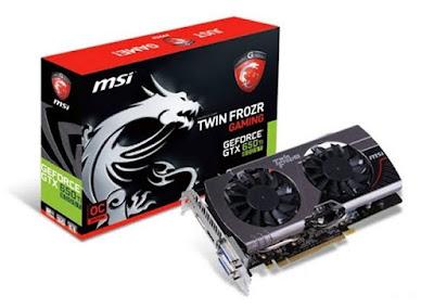 Nvidia GeForce GTX 650 Ti BOOSTフルドライバーのダウンロード