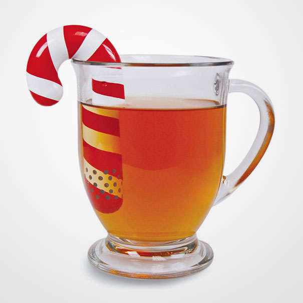 Candy Cane Tea Infuser-1