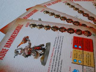 Gorechosen character cards