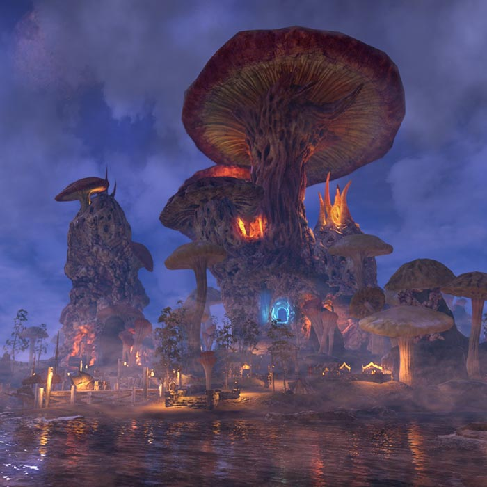 Morrowind Sadrith Mora Wallpaper Engine