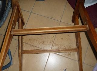 odnowienie starego fotela