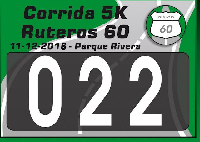 5k Despedida del año junto a Ruteros 60 en el parque Rivera (Montevideo, 11/dic/2016)