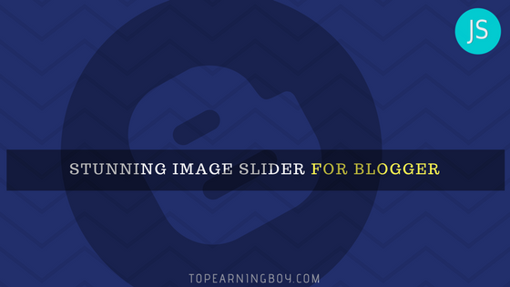Image Post Slider for blogger using javascript