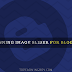 Stunning Image Post Slider For Blogger - JavaScript