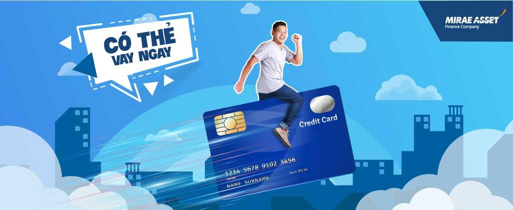 Vay tiền mặt qua sao kê tài khoản tín dụng