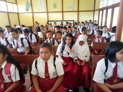 SMPN 1 Mentebah Kenalkan Lingkungan Sekolah kepada 118 Siswa Baru