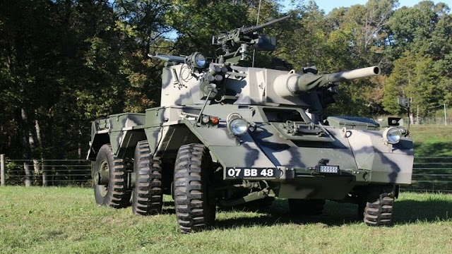 """British tank with cannon and machine guns offered for sale on """"eBay"""""""