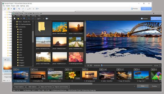 تحميل برنامج PTE AV Studio Pro 10 لإنشاء عروض شرائح من مجموعة الصور المفضلة لديك