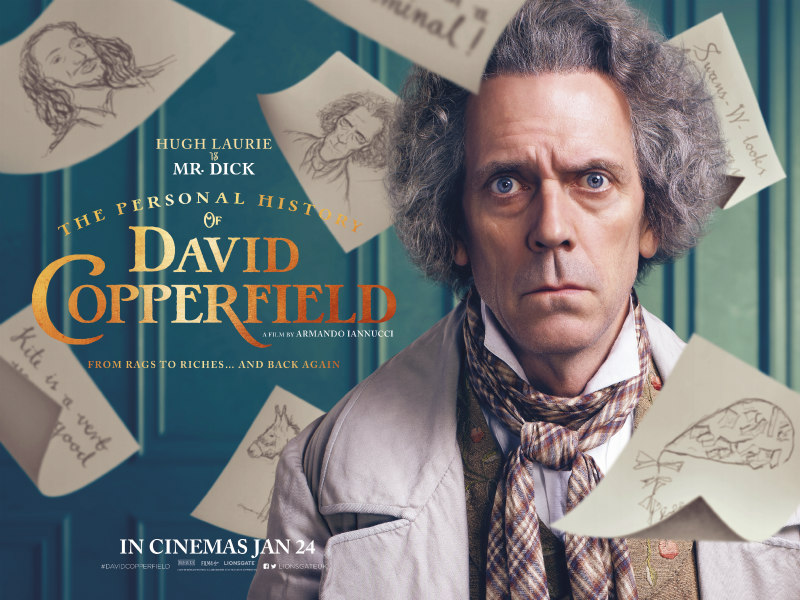 The Personal History of David Copperfield poster hugh laurie