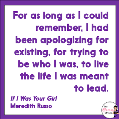 "If I Was Your Girl by Meredith Russo, details life after Amanda begins living her life as a young woman. She is living in an area of the South where many people are religious, few are accepting of anyone different, and even fewer people are ""out."" She must decide who deserves to know about her past, and more importantly, who she can trust. Read on for more of my review and ideas for classroom application."