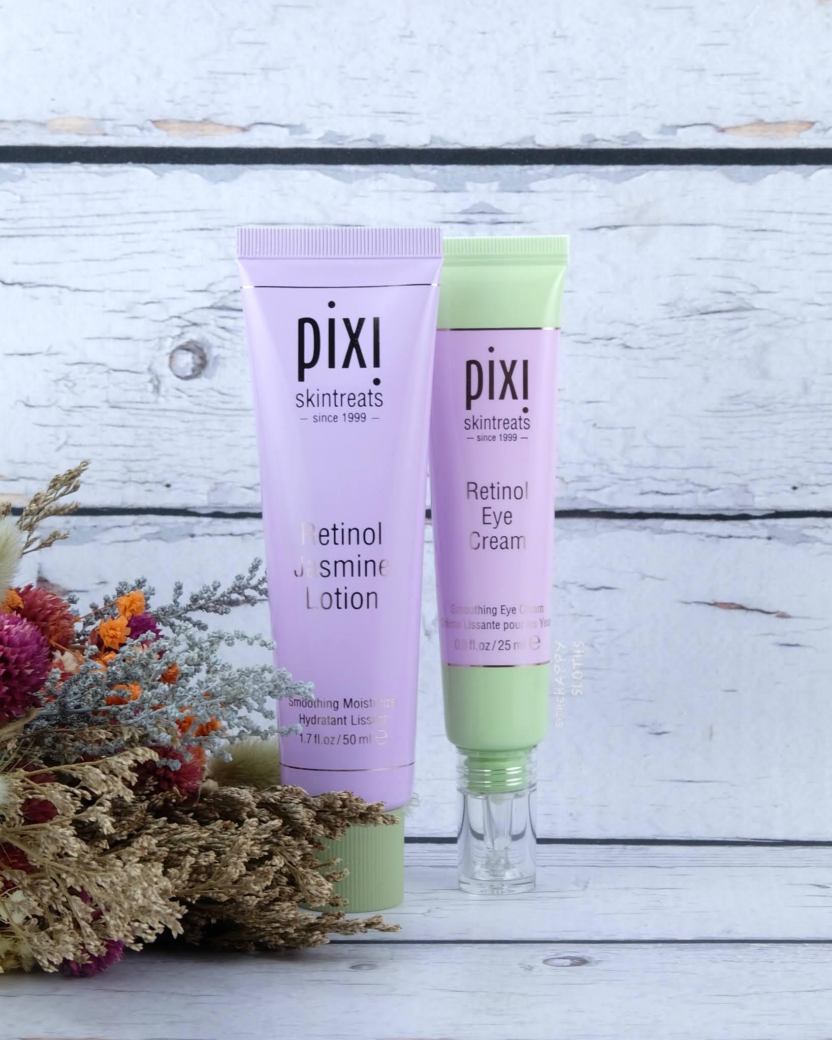 Pixi Beauty | Retinol Jasmine Lotion & Retinol Eye Cream: Review