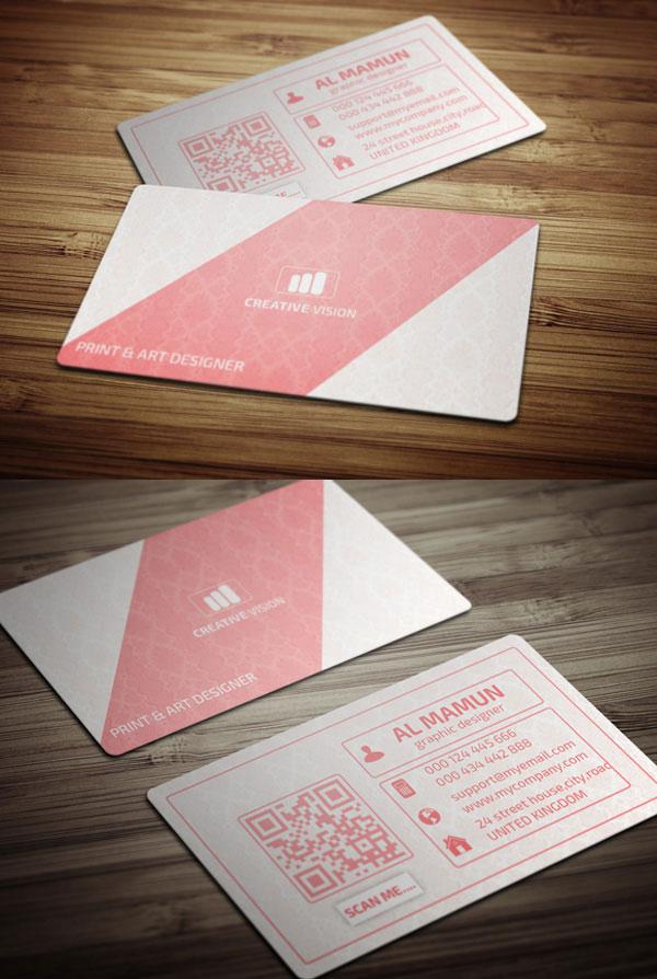 Creative Business Card Template (Freebie)