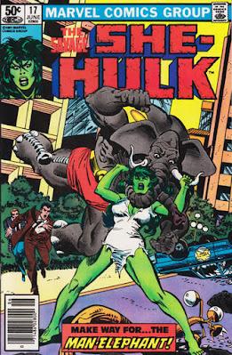 Savage She-Hulk #17, Man-Elephant