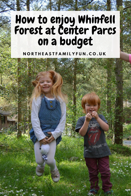 How to enjoy Whinfell Forest at Center Parcs on a budget #CenterParcs #WhinfellForest #Cumbria #England