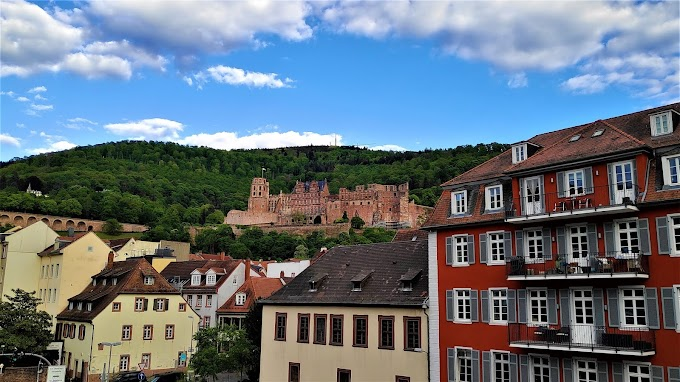 Ancient Heidelberg Castle