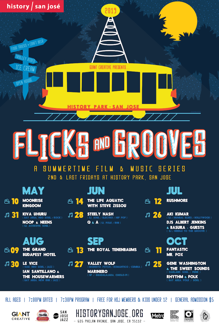 The San Jose Blog: Flicks and Grooves at History Park
