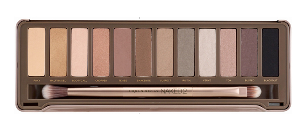 Urban decays naked palette 2