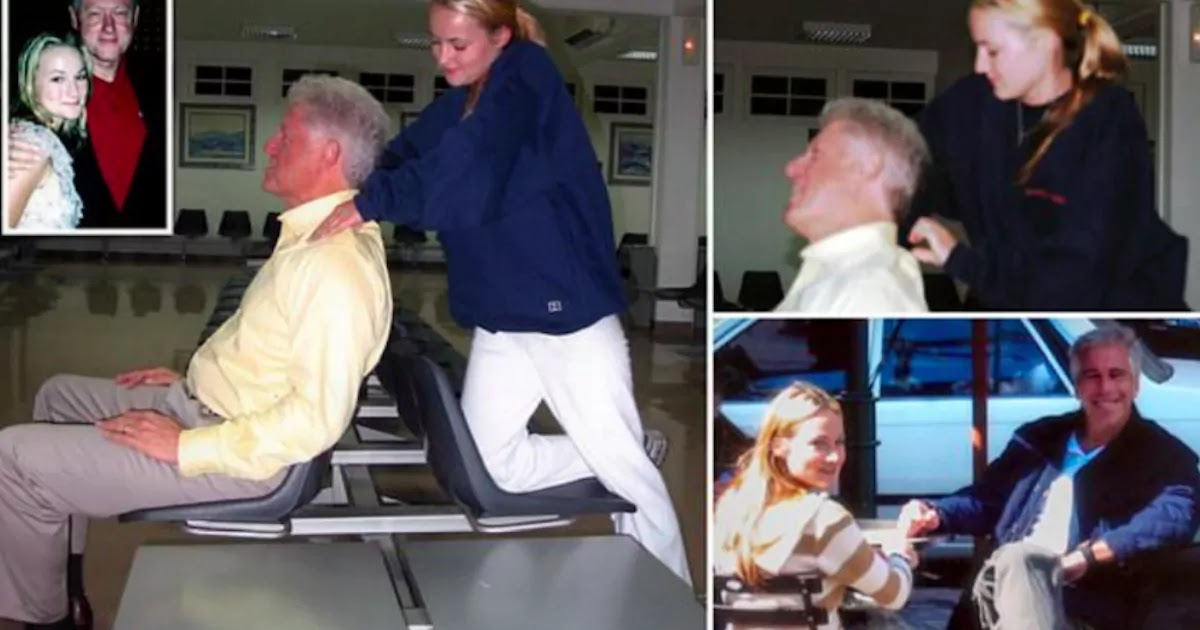 Photos Of Bill Clinton Being Massaged By Epstein Victim Released
