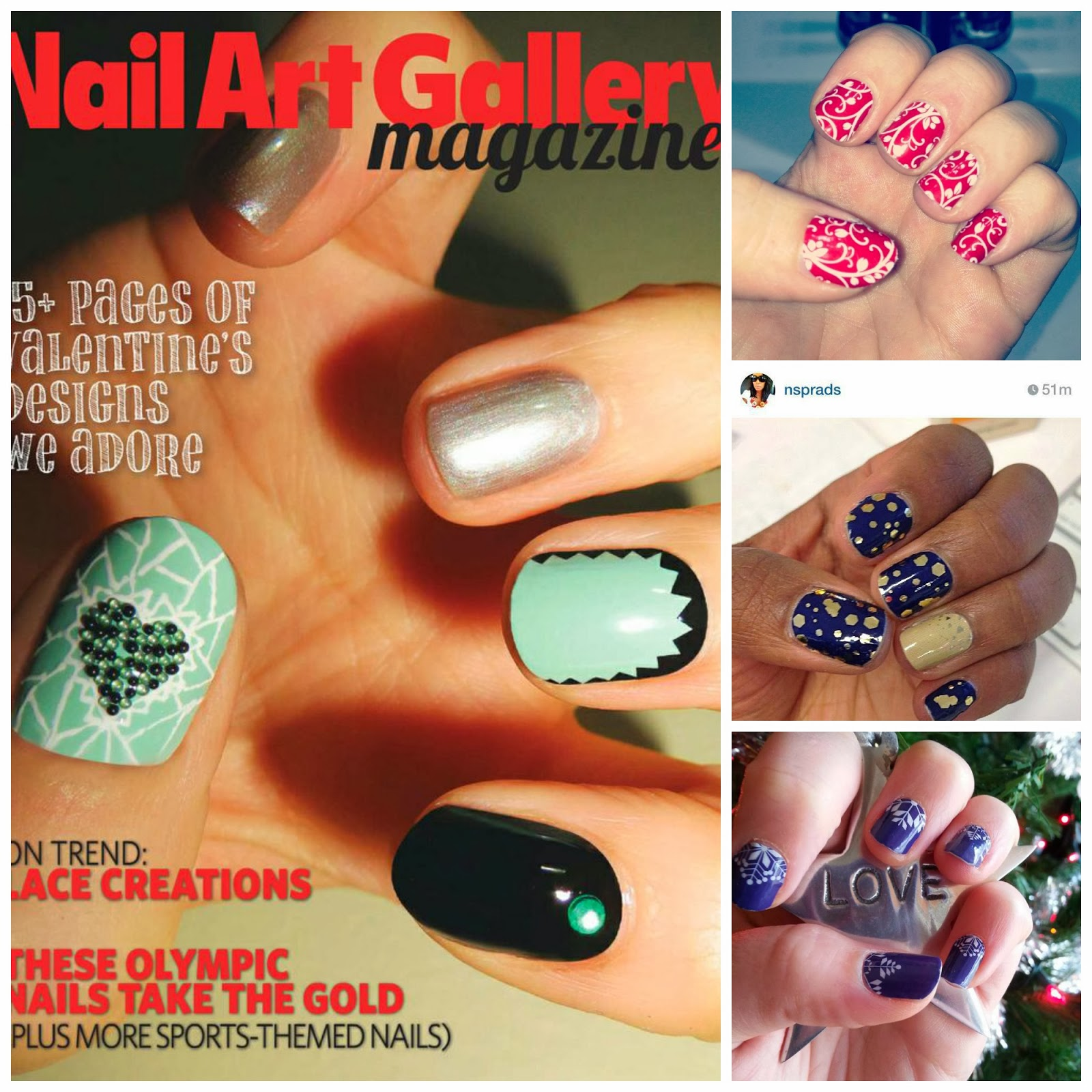Free Nail Art Designs Magazines