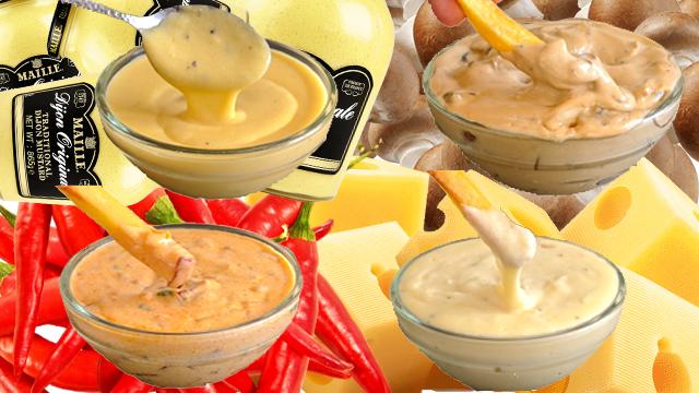 recette, sauces, pour frites, viandes, bbq, pâtes