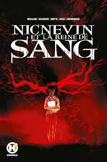 Couverture du comics Nicnevin et la reine de sang chez les Humanoides associés