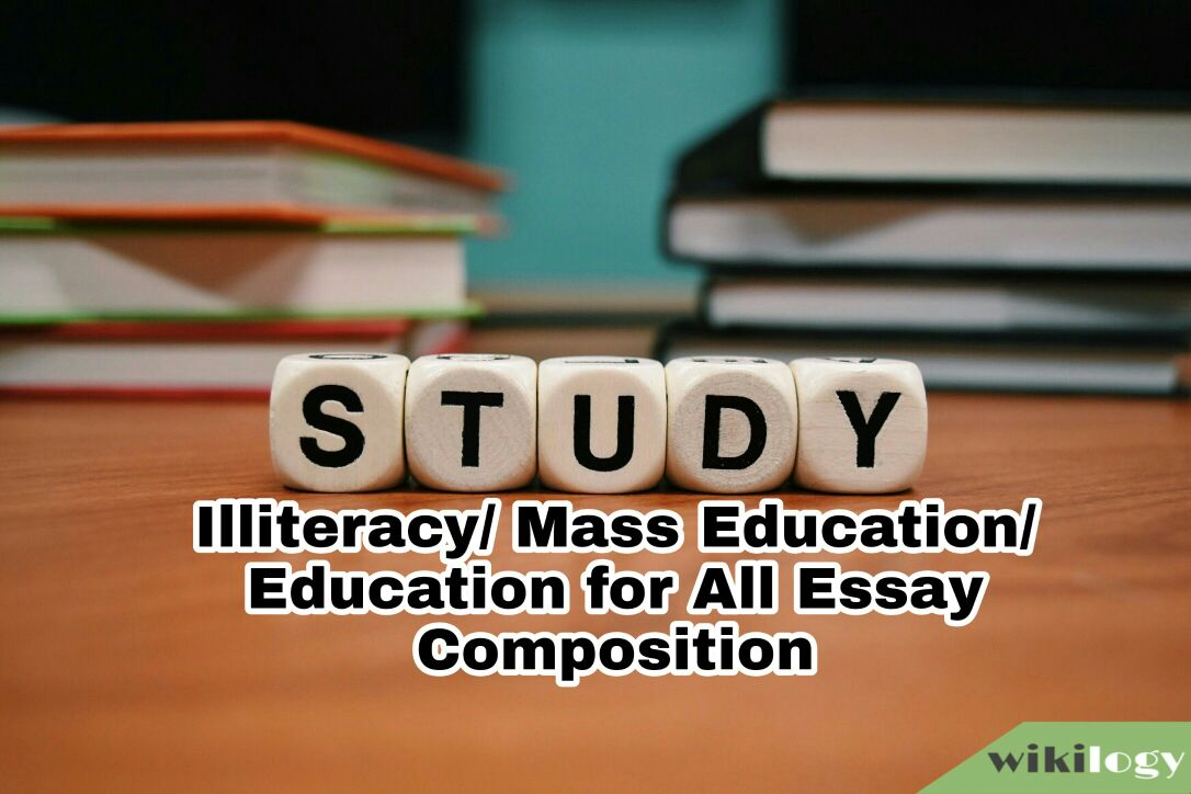 Illiteracy/ Mass Education/ Education for All Essay Composition