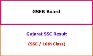 Gujarat SSC Exam Result 2021
