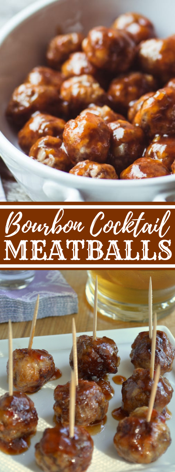 Bourbon Cocktail Meatballs #appetizers #partyrecipe