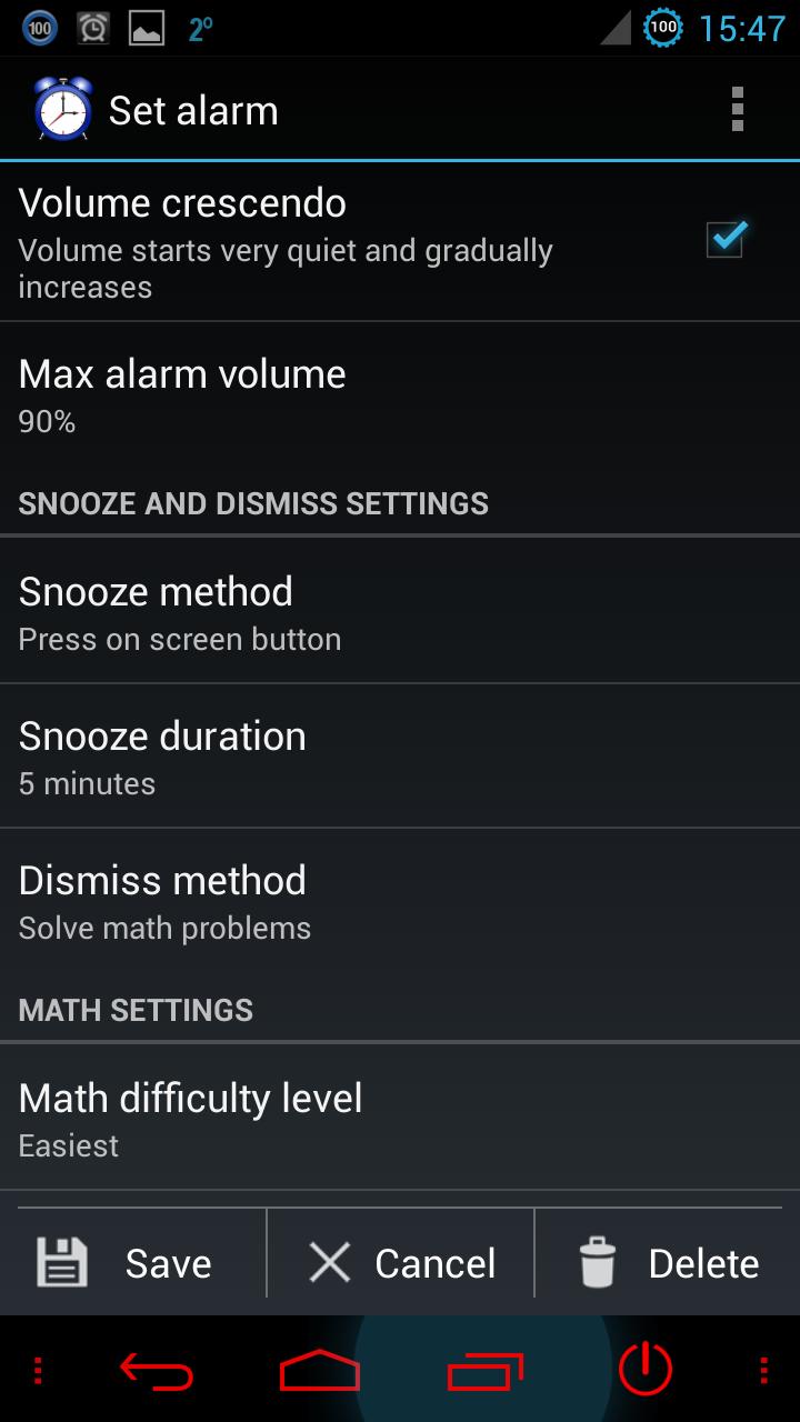 Quick App Introduction: Alarm Clock Xtreme 3 5 6p ~ Android Coliseum