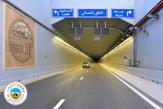 أنفاق 3 يوليو فى بورسعيد