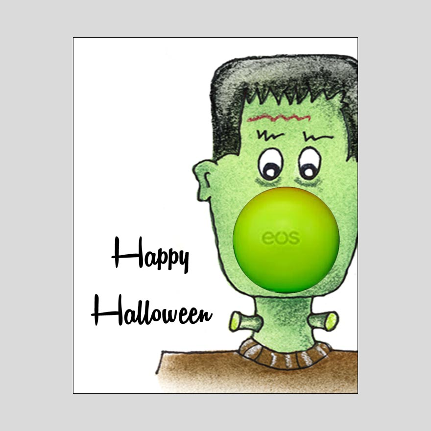 Printable Halloween Lip Balm Labels