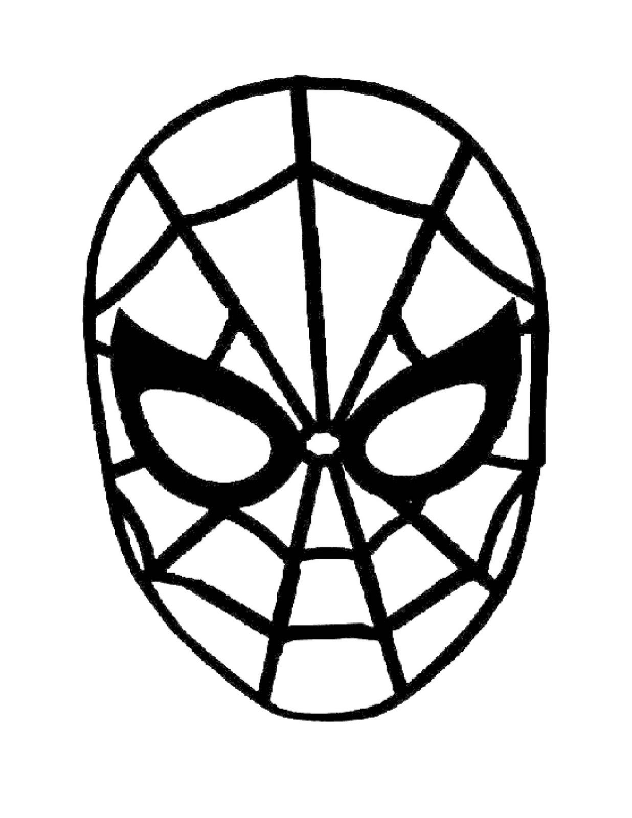 Dibujo Para Colorear Spiderman Dibujos Para Uñas De Porcelana
