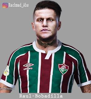 PES 2021 Faces Raúl Bobadilla by Rachmad ABs