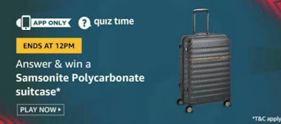 Today amazon quiz answers 18 august  2020