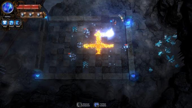 Bombing Quest remains faithful to the classic Bomberman combat mechanics you fight on a grid where you set bombs that explode in four directions.