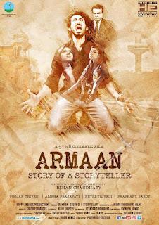Poster Armaan Story Of A Storyteller 2017 Full Movie Download Hindi 300Mb