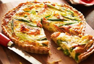 Salmon-Asparagus-Quiche