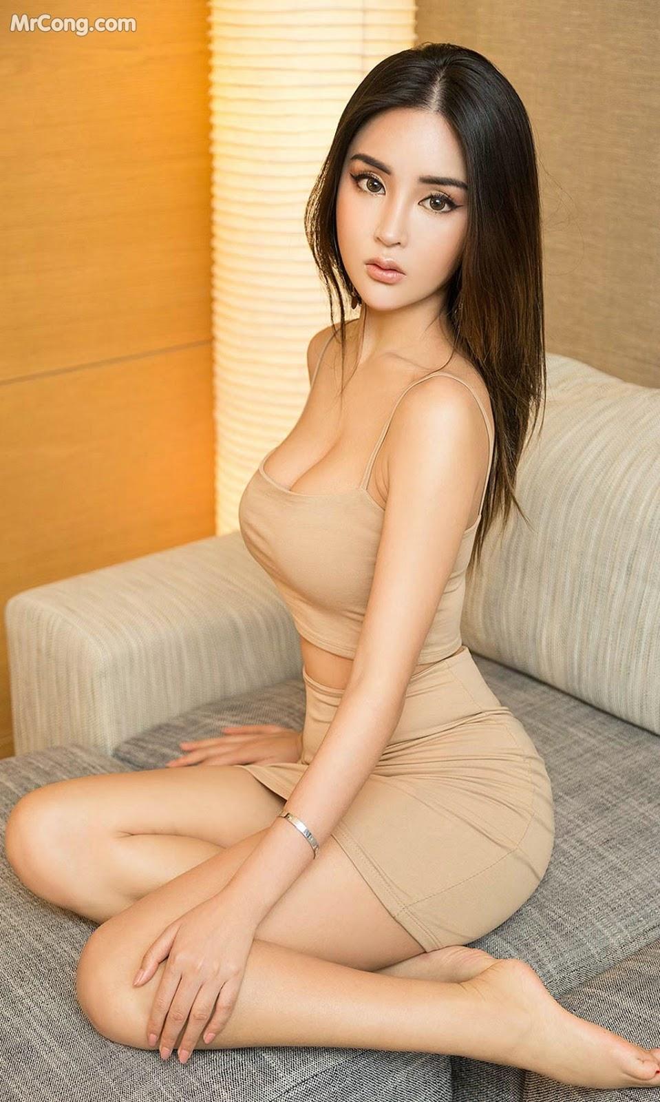Image UGIRLS-Ai-You-Wu-App-No.1421-Chelsea-MrCong.com-005 in post UGIRLS – Ai You Wu App No.1421: Chelsea (35 ảnh)