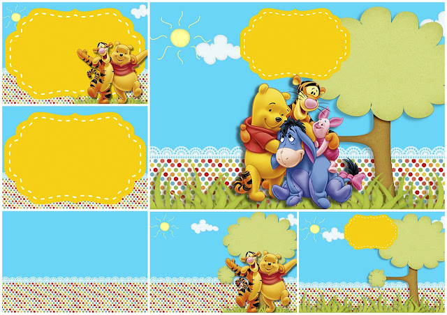 It's just a picture of Printable Winnie the Pooh Baby Shower Invitations with new