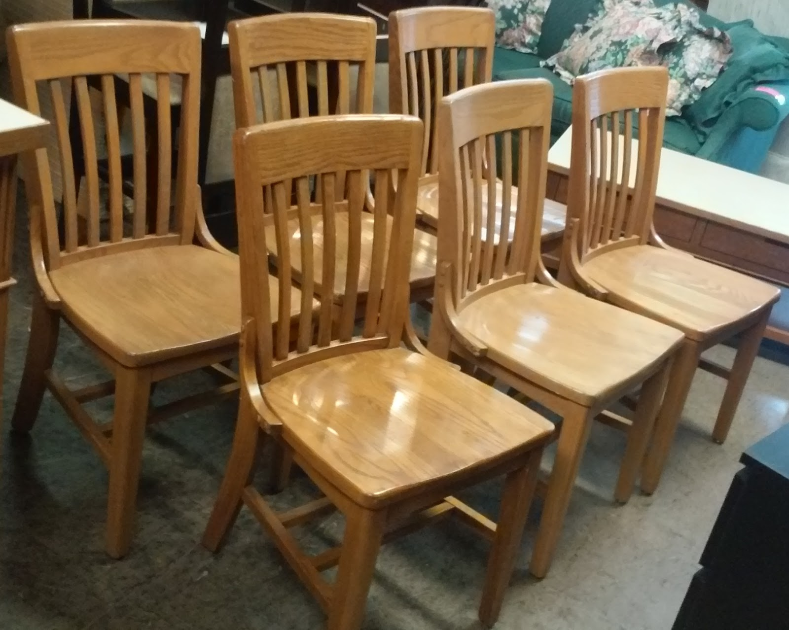 uhuru furniture collectibles sold mission oak dining chairs 80