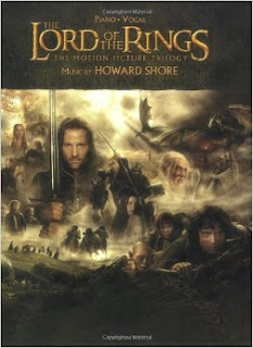 The songIn Dreams included in movie cover art The Lord of the Rings