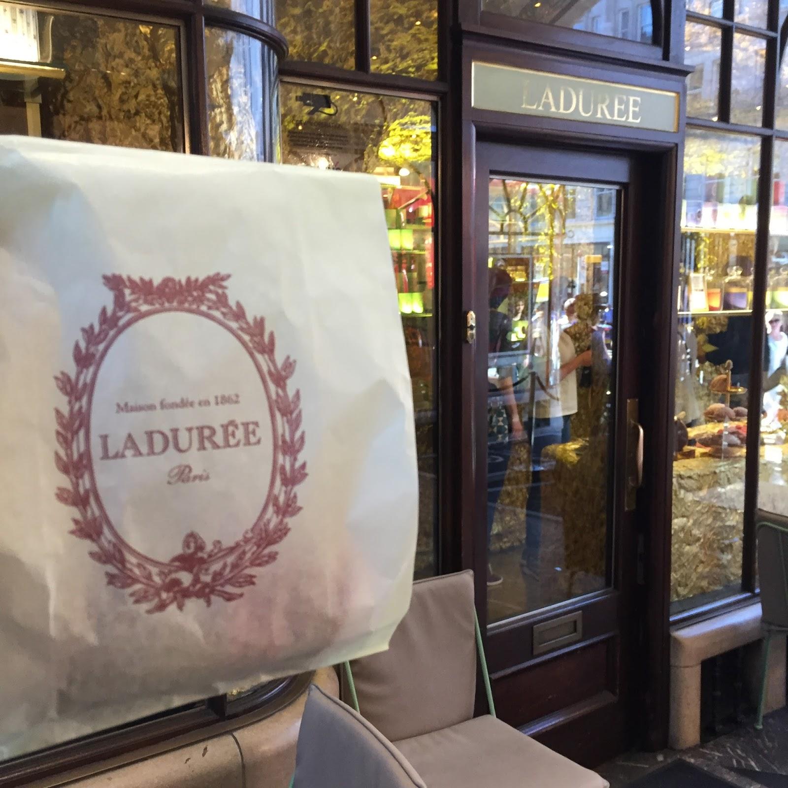 Ladurée Macarons Burlington arcade