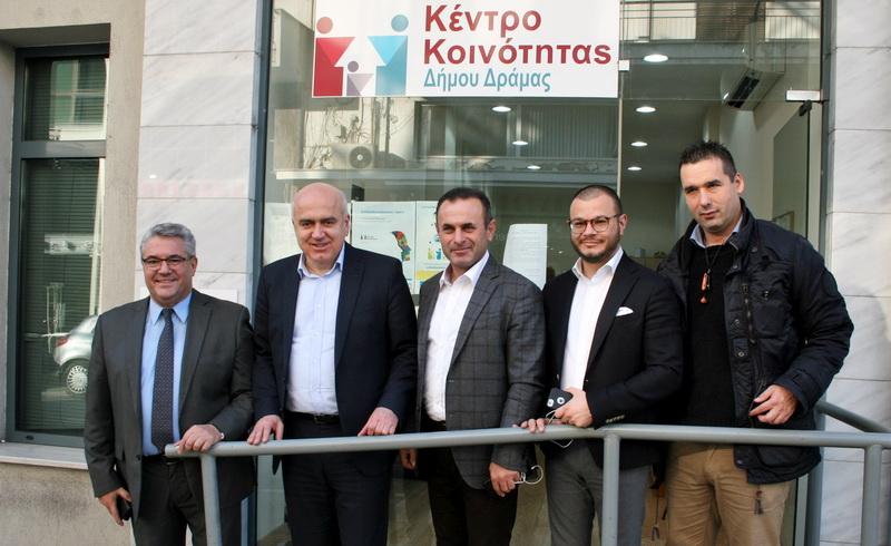 Επιπλέον 5 εκατομμύρια ευρώ στα Κέντρα Κοινότητας της Αν. Μακεδονίας και Θράκης