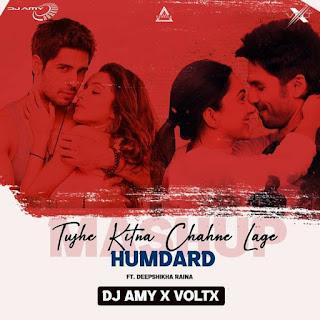 TUJHE KITNQ CHAHNE LAGE X HUMDARD - DJ AMY X VOLTX