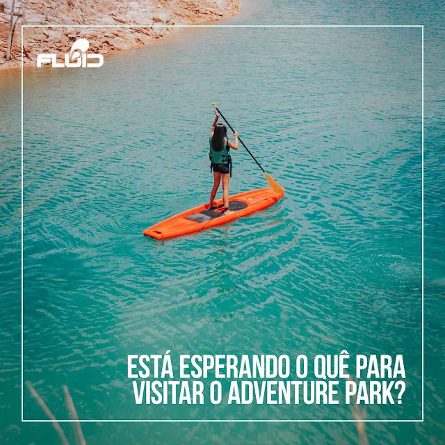 Aventura é no Adventure Park em Cristalina