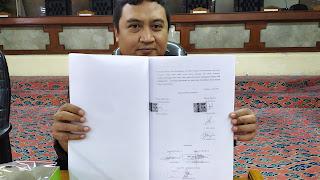 Tower Kadaluwarsa, Warga Pekiringan Mengadu Ke Komisi I DPRD Kota Cirebon