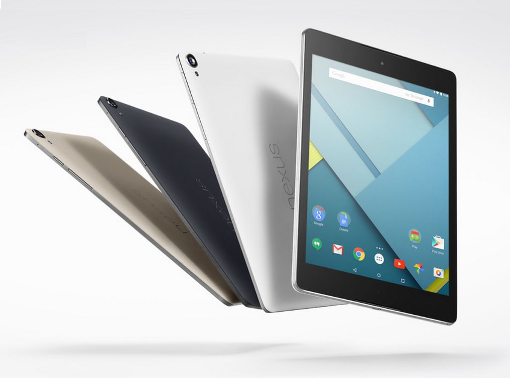 Google Unveils HTC Nexus 9 Tablet